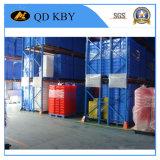 Recipiente K206 Stackable plástico para o armazém de armazenamento com tampa