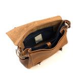 Sacos de couro do mensageiro dos homens diários do desenhador da boa qualidade do uso