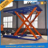 Het hydraulische Platform van de Lift van de Auto van de Schaar van de Vloer voor de Garage of het Parkeren van het Huis