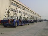 10 Car Two Axle Double Tyre Car Carrier Semi - Trailer