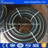 Boyau en caoutchouc de la distribution de l'eau d'air de tissu noir flexible de 3/4 pouce
