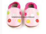 Тип конструкции: Кожаный ботинки младенца 01