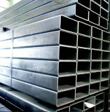 Zink-überzogenes Stahlgefäß/rechteckiges galvanisiertes Stahlrohr 60X40mm