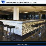 Compteur moderne pur de marbre artificiel de /Bar de Tableau de barre d'Acryl (TW-TRCT-004)