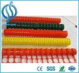Engranzamento reflexivo plástico do plástico da cerca de segurança do engranzamento de fio 1.2m
