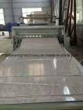 Chaîne de production de marbre artificielle composée en plastique en pierre de profil de PVC