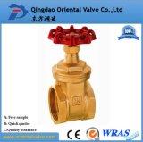 Bola forjada Balve, válvula de cobre amarillo de la pulgada de las instalaciones de tuberías de la agua caliente el 1/2 para la industria