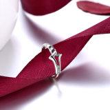 L'argento sterlina 925 concede a figura l'anello di disegno semplice monili classici