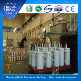 Transformateur de distribution monté par pôle immergé dans l'huile normal monophasé 6kV/6.3kV de norme ANSI