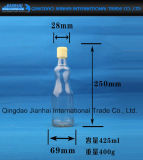 Sesam-Öl-Glasflasche mit Plastikschutzkappen
