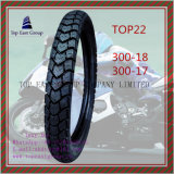 Lange Lebensdauer, Superqualitätsmotorrad-inneres Gefäß, Motorrad-Gummireifen mit Größe 300-18, 300-17