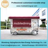 Camion électrique mobile chaud populaire de nourriture de bonne qualité de 2017 ventes avec le matériel facultatif