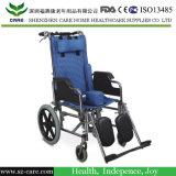 Inclinación en el espacio para sillas de ruedas
