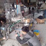 Edelstahl-volle automatische Flüssigkeit und Pasten-Füllmaschine-reinigende Füllmaschine