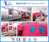 中国プラスチックPVC材料のBaolimeiのコイルのマットのシート押し出し機機械