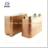 Cambiador de calor cubierto con bronce de la placa para el refrigerador Bl120 del aceite de motor de turbina