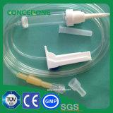IV tube médical jetable de voie du fluide 3