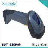 Bonne qualité de code barres du scanner 1d de laser de lecteur gris tenu dans la main de code barres (SGT-2209AP)