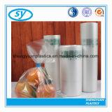 Eco-Freund transparente flache PlastikEinkaufstasche auf Rolle
