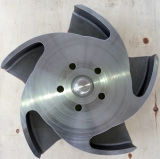 Ventola d'acciaio di titanio della pompa di /Stainless Durco
