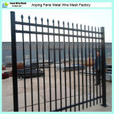 1.8m résidentiel High New Discount Faux Wrought Iron Fencing Design