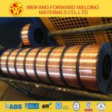 0.8mmの15kg/PlasticスプールEr70s-6の溶接ワイヤの溶接の製品の優秀なパフォーマンスの固体溶接ワイヤ