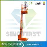 Carro de elevación del recogedor de la pedido del recogedor de la orden de la alta elevación de la potencia de batería