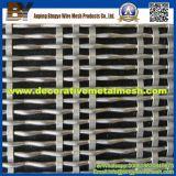 La maglia decorativa dell'acciaio inossidabile si applica agli schermi di obbligazione