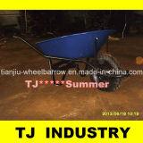 78のL南アメリカの市場の一輪車Wb7400の手押し車の製造業者
