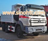 BEIBEN 6X4トラック25トンのダンプ