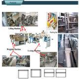 Pesage automatique de longues pâtes et machine à emballer