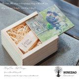 Коробка USB Hongdao изготовленный на заказ деревянная с деревянным USB Wholesale_L