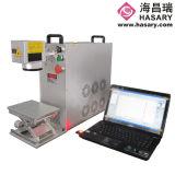 Машина маркировки лазера волокна пластмассы и металла