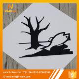 Escritura de la etiqueta amonestadora tóxica durable de la señal de peligro de la seguridad