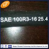 Tuyau hydraulique non métallique de double tresse de la fibre R3