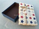 Цветастые античные коробки подарка рождества (FAXH0004)
