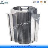 Carcasa del motor fundición con aleación de aluminio con servicio de OEM