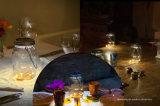 테이블과 걸기를 위한 태양 LED 유리제 단지 병 빛