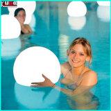 Boule d'oeufs de piscine magique LED à changement de couleur