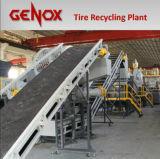 LKW-Gummireifen-und Autoreifen-Abfallverwertungsanlage/Wiederverwertung der Maschine