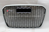 "Серебристая передняя Авто решетка для автомобиля Audi RS6 2013 года """