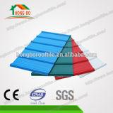 Hoja de acero acanalada prepintada del material para techos (0.13--0.8m m)