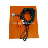 220V 5kw 260*490*1.5 mm kundenspezifische Silikon-Gummi-Heizung