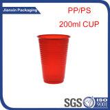Fabricante plástico descartável profissional do copo da água bebendo