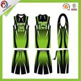 El último baloncesto Jersey del diseño crea el baloncesto Jersey de la sublimación para requisitos particulares de la insignia