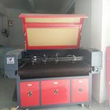 Máquina de gravura da máquina do cortador do laser do CNC para o pano, tela Jieda