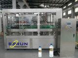 Machine d'embouteillage remplissante mis en bouteille par animal familier de l'eau de boisson