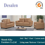 Sofa en cuir du Canada, sofa sectionnel, meubles de salle de séjour (A07)