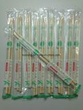 Type coréen bambou remplaçable de baguettes d'enveloppe de papier à vendre