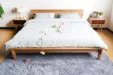 Festes hölzernes Bett-moderne doppelte Betten (M-X2241)